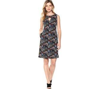 Nine West Women's Sleeveless Cutout Shift Dress